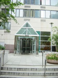 Upper East Side condo rental - Building Entrance