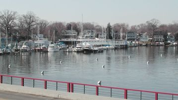 Annapolis is the Sailing Capital; this house is central to marinas.