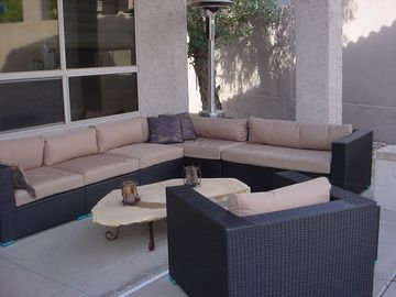 Scottsdale Mountain bungalow rental - Inviting Outside Patio for Relaxation