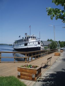 Our 'Kate' of Moosehead , the Katahdin Steamship, daily trips up the lake