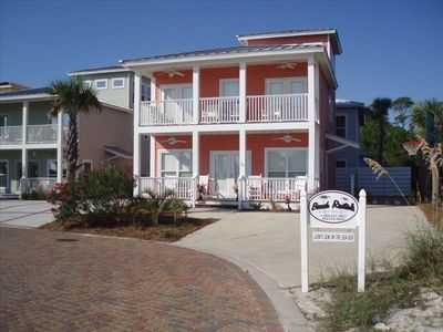 Dune Allen Beach house rental - Enjoy relaxing on the comfortable porches as you gaze at the Gulf.