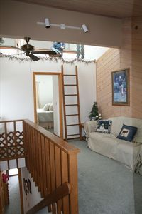 Gaylord condo rental - Loft and Upstairs Queen size bed