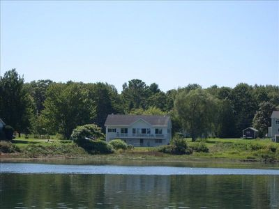 Boothbay Harbor house rental - House from mooring