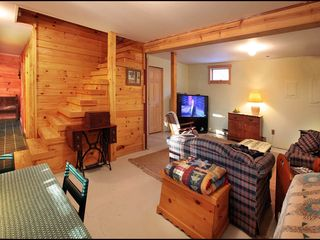 Lehighton cabin photo - Family/TV Room