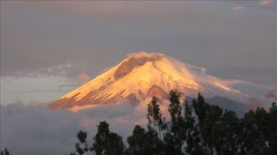 Cotopaxi, one of the most beautiful volcanoes