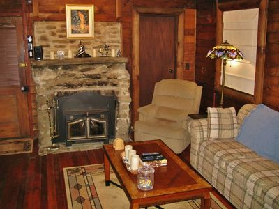 Sunol cabin rental - Family Room