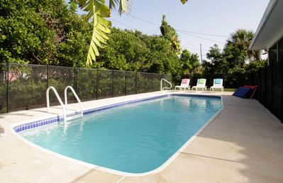 Heated Pool with Private Gate To The Beach