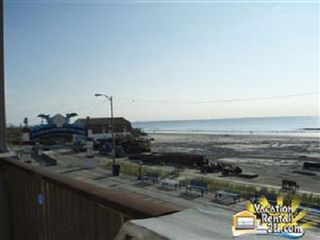 North Wildwood condo photo - Deck Northward: LF Station Drives Handicapped To Water's Edge Free Beach W/C's!