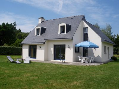 Recent house well equipped to calm ended on ground of 1700m2 near beaches