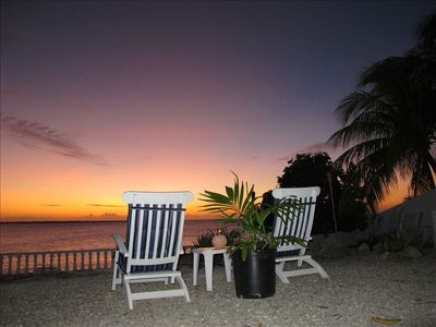 Bonaire apartment rental - A beautiful ending to the day