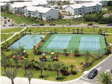 Tennis Courts, Basketball Court and Playground