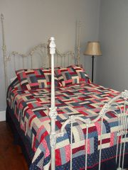 Gettysburg house photo - The Jenny Wade Room includes a queen bed and 32' flat screen as well.