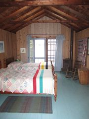 Stoney Lake cottage photo - Sleeping Cabin on West point, views of both sunrise & sunset, close to Nature!