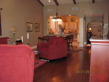 Fayetteville condo rental - Living Room / Kitchen