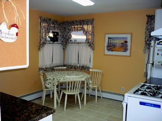 Lavallette house photo - Brand NEW Tile & Granite Kitchen, beautiful sunsets! Top Unit.