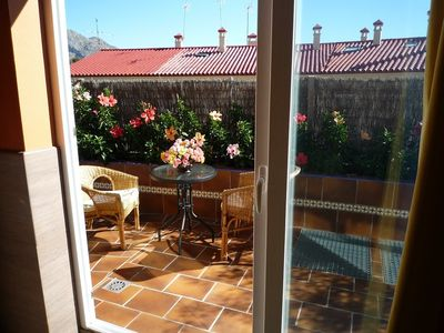 Malaga City apartment rental - Studio D terrace