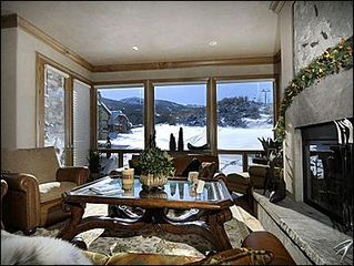 Snowmass Village house photo - Living Room with Views