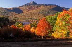 Mount Chocoura during Fall foliage season is exquisite.