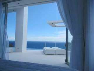 Curacao villa photo - Spectacular ocean view from the Master Bedroom