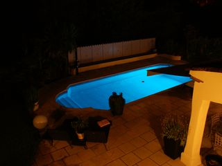 St-Paul-de-Vence villa photo - Pool in the evening