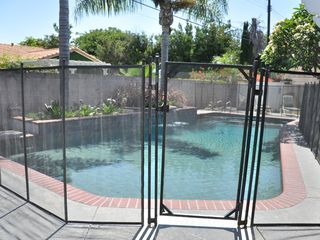 Anaheim house photo - Solar-Heated Pool with Safety Gate