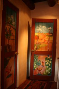 Art on the doors !