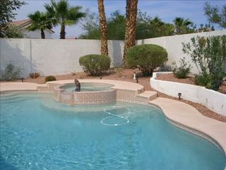 Las Vegas house photo - Private pool and spa. Bi-weekly pool service