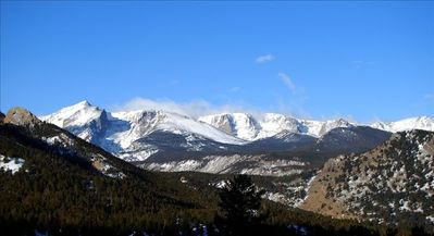Stunning views of Rocky Mountain National Park