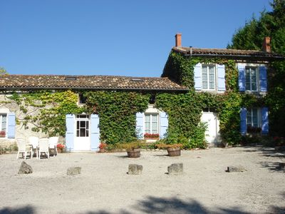 Detached Charentaise Stone Farmhouse With Totally Private 12mx6m Pool
