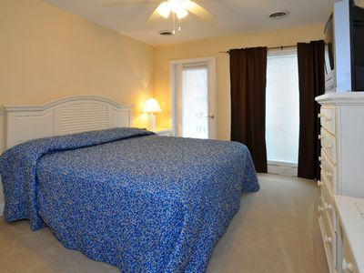 Crescent Beach villa rental - One of 3 bedrooms that has access to balcony with Ocean Views!!