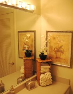 bathroom dressing area