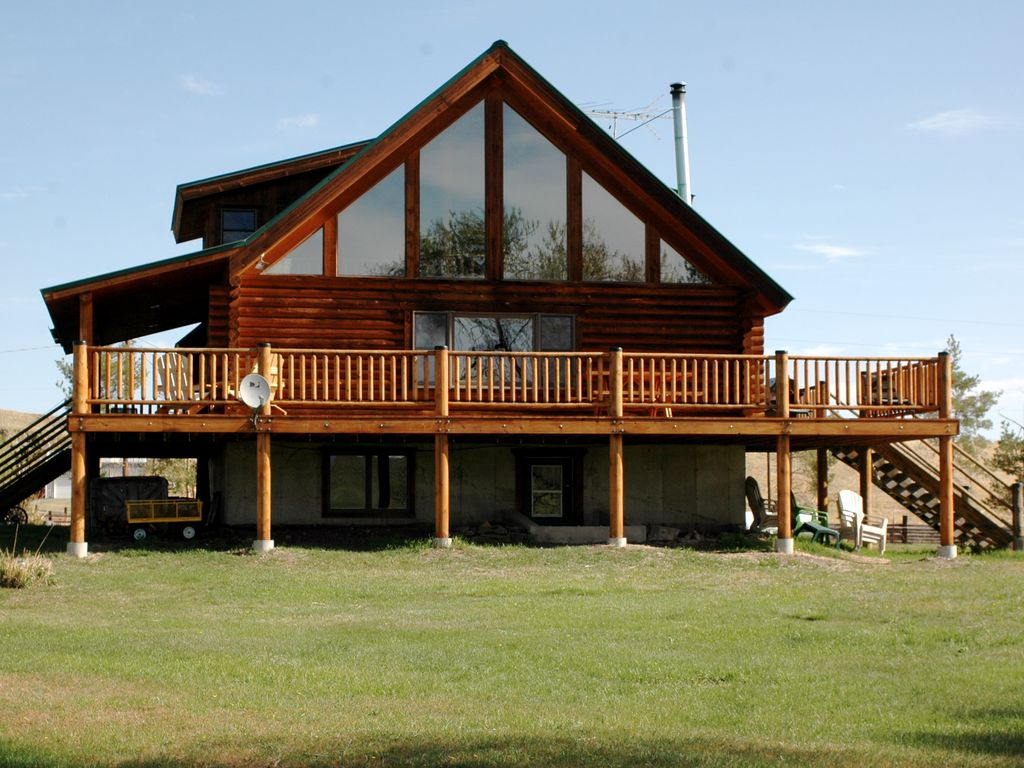450 Acre Ranch Log House Farmstay Experience Vrbo