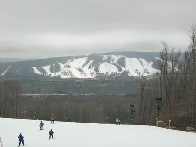 Harbor Springs chalet rental - Boyne Highlands viewed from Nubs Nob