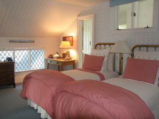Water Mill house photo - Upper guestroom with two twins