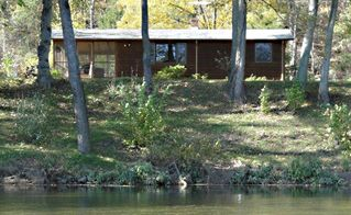 Luray cabin photo - Cabin from the River