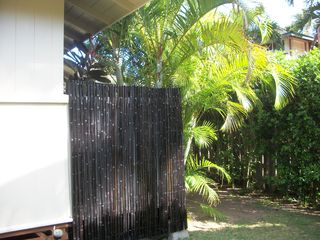 Sunset Beach house photo - Outside Tropical Bamboo Shower