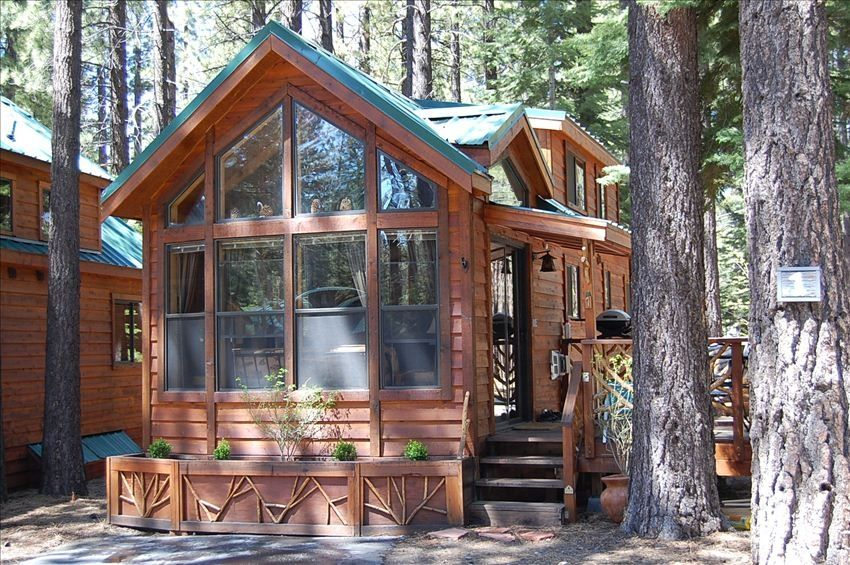South Lake Tahoe Cedar And Knotty Pine Ski Cabin Vrbo