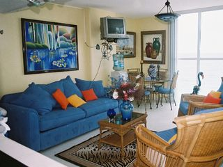 Cancun apartment photo - living room