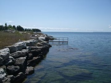 Baileys Harbor house rental - Shoreline