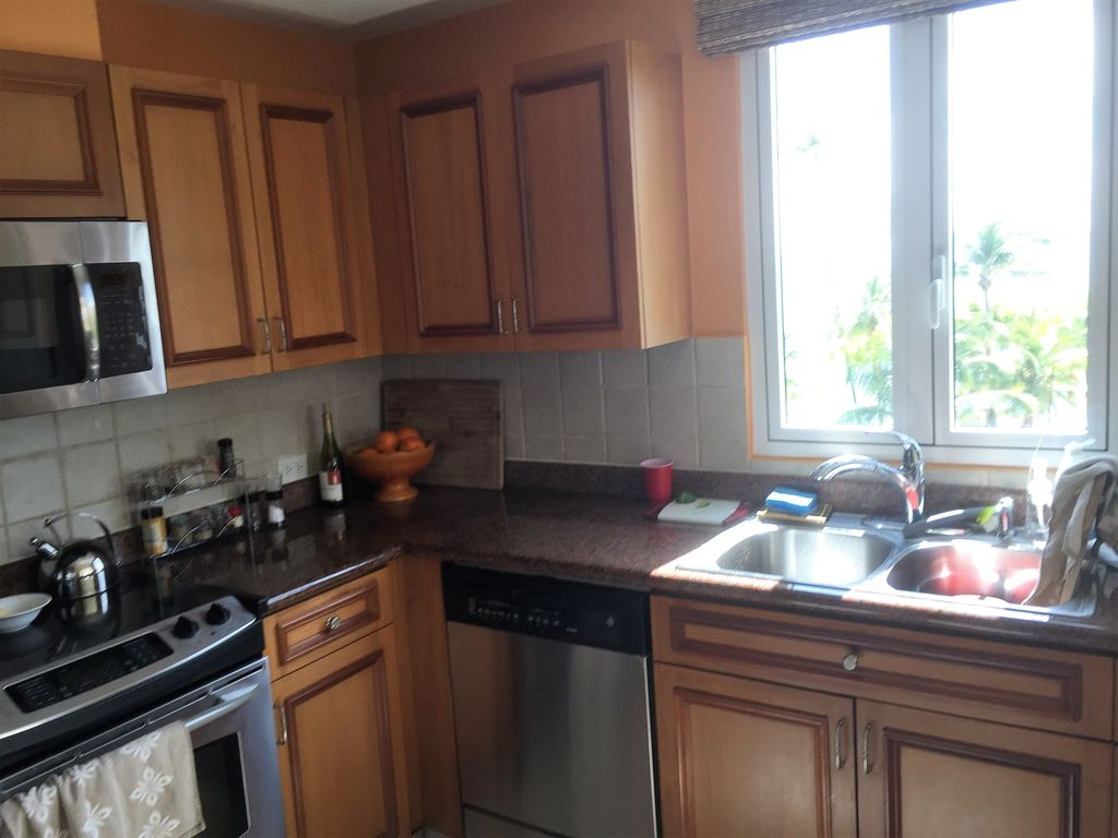 Kitchen Laundry Oceanfront Villa Completely Equipped With Kitchen Laundry And