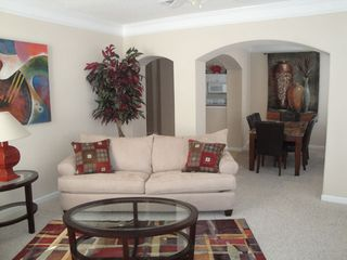 Gulfport villa photo - Georgeous Living Room / Dining Room
