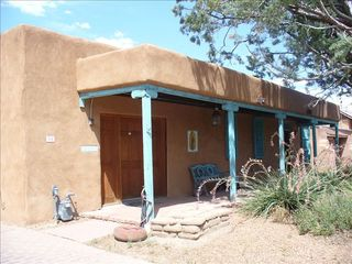 Albuquerque house photo - Typical Old Town Adobe style home.