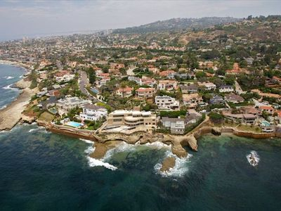 La Jolla beaches from the air...as seen from the helicopter tour