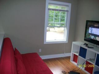 Michigan City house photo - Loft with Queen Sofa Bed