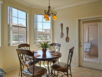 Mesa condo rental - Bright Dining Area