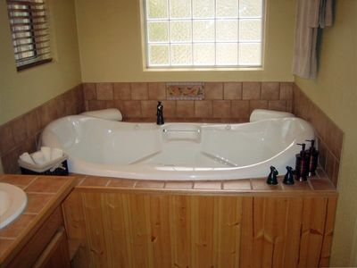 Master Bath Jacuzzi Tub - Separate Shower With Dual Shower Heads