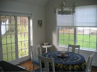 Dining Area-View of Garden & entry to property