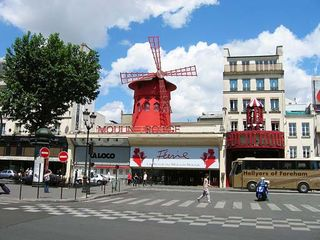 18th Arrondissement Montmartre apartment photo - The Moulin Rouge