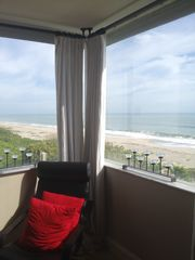 Melbourne Beach condo photo - View from Master Bedroom (Northeast toward Kennedy Space Center)