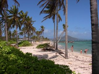 Our beach facing Nisbet Resort / St Kitts - Nisbet Beach villa vacation rental photo
